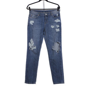 7 For all ManKind Distress Destroy Jeans Size 29
